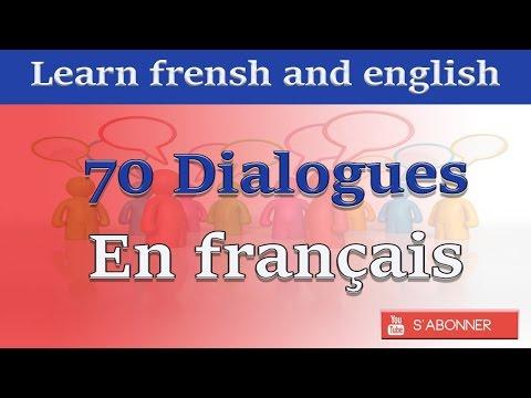 70 dialogues en français
