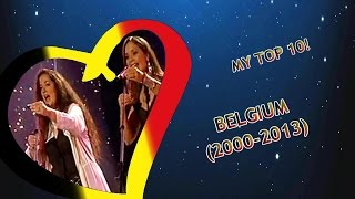 Eurovision BELGIUM: 2000-2013 (My top 10) [2014 UPDATE](Here is my personal eurovision top 10 entries ranking of Belgium (2000-2013) [2014 UPDATE] Mostly liked songs from 2010, 2003, 2004, 2002. I also like songs ..., 2014-11-23T19:32:46.000Z)