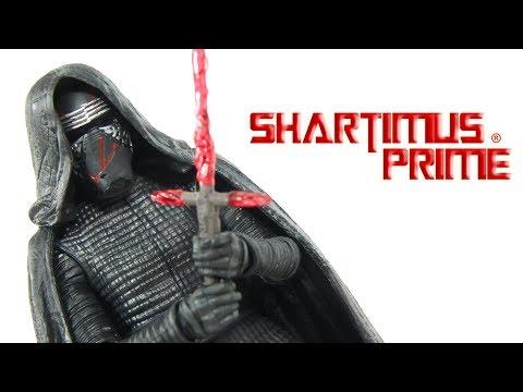 Star Wars Supreme Leader Kylo Ren Black Series The Rise Of Skywalker Episode 9 Action Figure Review