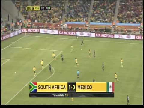 World Cup 2010: South Africa vs Mexico Highlights