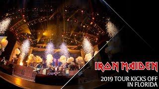 Iron Maiden - 2019 Tour kicks off in Florida
