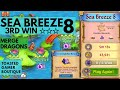 Merge Dragons Sea Breeze 8 • 3rd Win • Get 3 Stars & Moon Chest