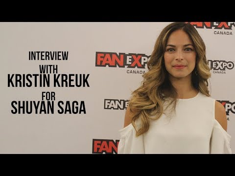 with Kristin Kreuk for Shuyan Saga