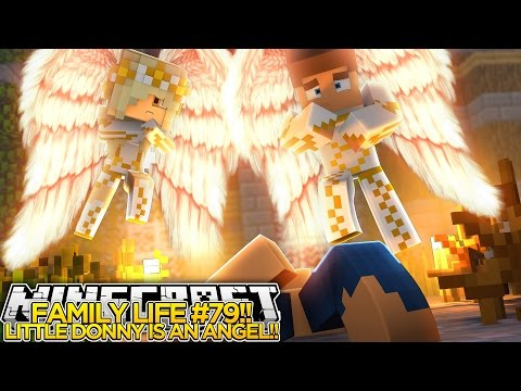 FAMILY LIFE (79)|| LITTLE DONNY IS AN ANGEL!!!- Baby Leah Minecraft Roleplay!