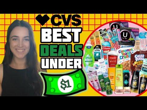 Freebies & Deals Under $1 – CVS Couponing (6/28 – 7/4)