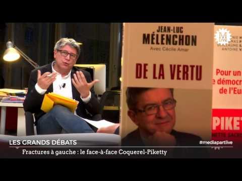 MediapartLive: Coquerel-Piketty et les fractures de la gauche