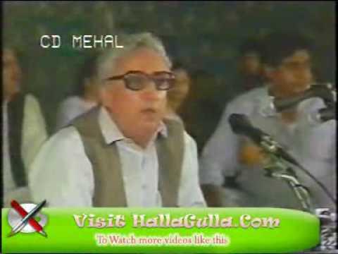 Shahzad Ahmed - Yeh Soch Kar Keh Tere Jabeen Pay Na Bal Paray.wmv