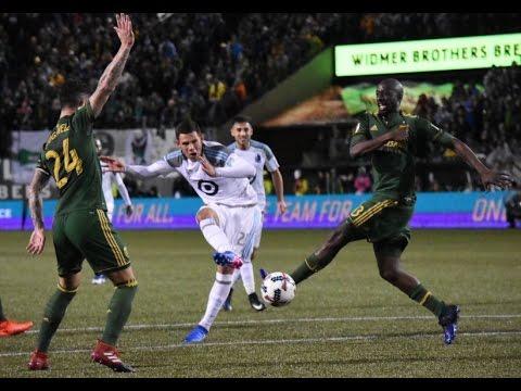 Christian Ramirez Score The first Goal In History For Minnesota Club/MLS 2017