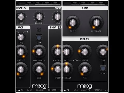 Moog Filtatron, Add A Nice Twist To Your Drum Loops for iPad