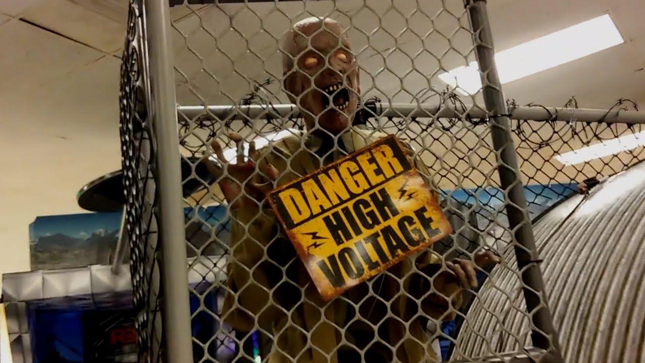 High Voltage Cage : High voltage zombie spirit halloween youtube