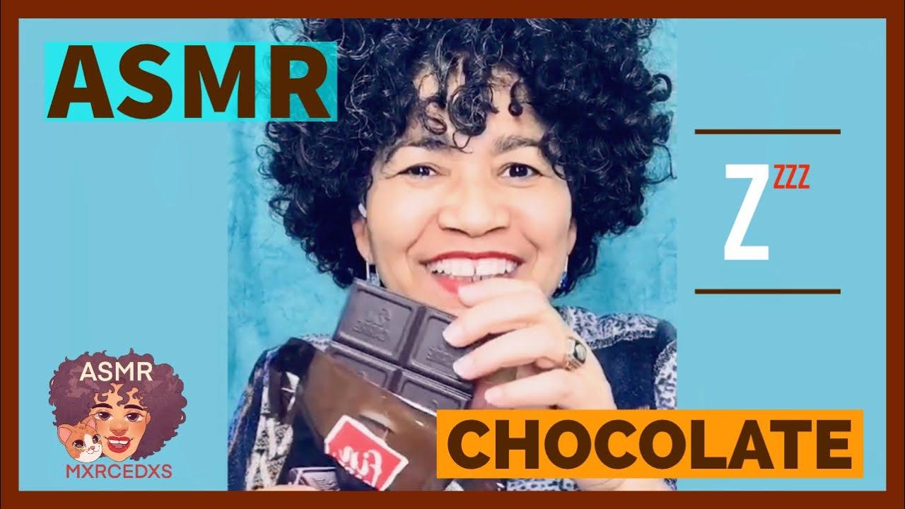 🍫 Chocolate ASMR [MOUTH SOUNDS] by mxrcedxs. #short #corto #tribuxMer