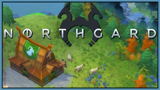 Northgard - Viking Base Building Strategy  - Civilization + Settlers [Let's Play Northgard Gameplay]
