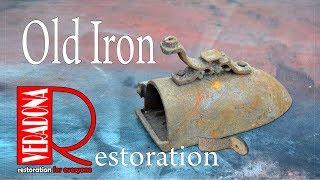 Old Iron Restoratidon.DIY Jak zrenovovat starou žehličku