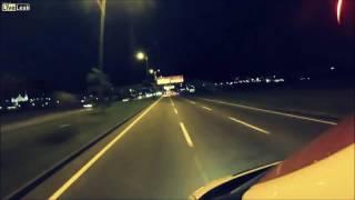 Craziest ambulance driver in Florianopolis Brasil (Super High speed)
