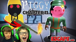 ROBLOX PIGGY CHAPTER 11 ESCAPE NEW UPDATE ΠΩΣ ΝΑ ΚΑΝΕΙΣ ESCAPE HOW TO ESCAPE