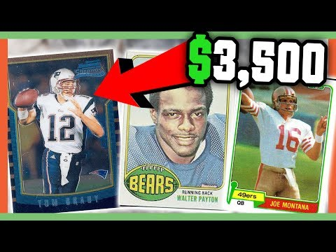 Rare Football Cards Worth Money Valuable Cards To Look For Youtube