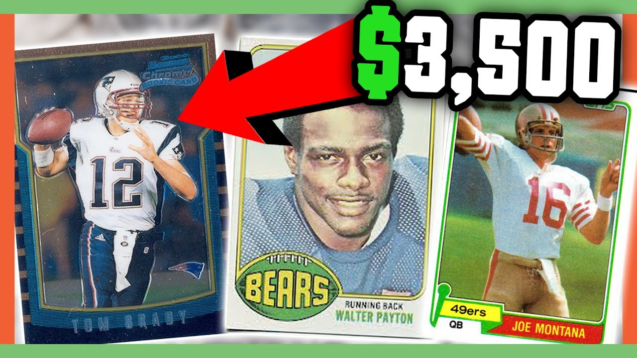 Rare Football Cards Worth Money Valuable Cards To Look For