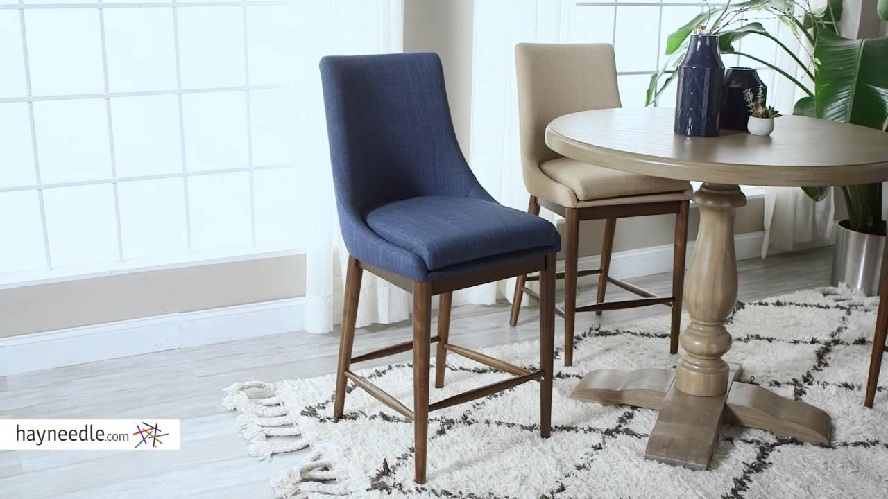 Belham Living Carter Mid Century Modern Upholstered