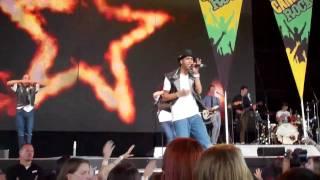 Fire- MDot and Cast of Camp Rock 2 Jonas Brothers VA Beach 8/29/10 YouTube Videos