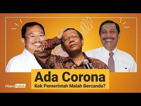 Ada Corona Kok Pemerintah Malah Bercanda?