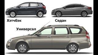 видео Виды и типы кузовов легковых автомобилей