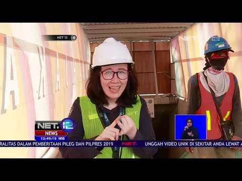 Melihat Progres Pembangunan MRT di Jakarta yang Akan Beroperasi Pada Maret 2019   NET12
