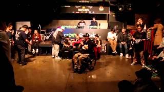 결승 final round dandy poppin vs rhythm gate b boy wanted06 1on1 freestyle battle