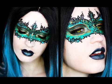 Masquerade Mask Makeup Tutorial You