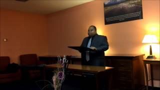 elder james e manuel giving old covenant vs new covenant part 1