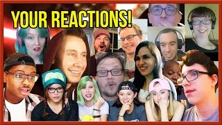 Your Reactions to Kylo Ren: The Awakening (Reaction Compilation)