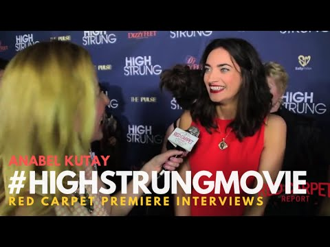 """Anabel Kutay """"April"""" at the Red Carpet Premiere for """"High Strung"""" #HighStrungMovie"""