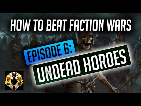 RAID: Shadow Legends | How to beat Faction Wars, Episode 6: Undead Hordes. Great rares & Epics here!