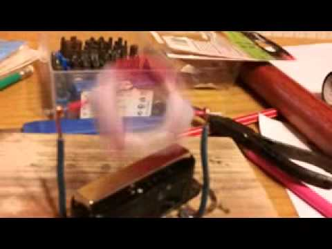simplest electric motor (education)
