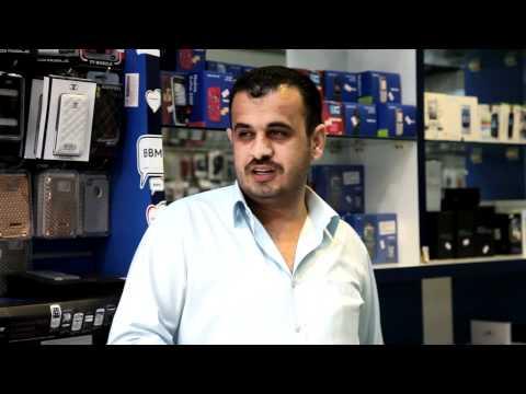 Video: Abu Dhabi's mobile phone road
