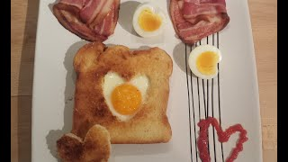 How To Make A Heart Themed Cooked Breakfast For Valentines Day
