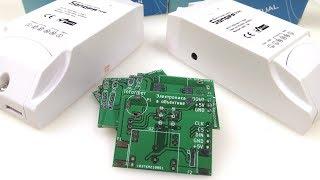 PCB информера, Sonoff DUAL и POW