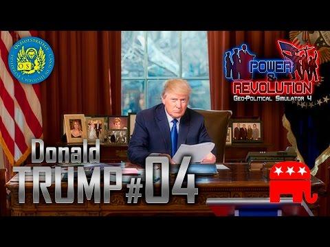"Power & Revolution - Geopolitical Simulator 4 - Donald Trump 04 ""Presidente Trump"" SPA"