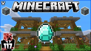 Builds \u0026 DIAMONDS! | Minecraft Survival Let's Play
