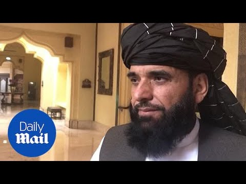 Taliban spokesperson discusses peace talks with the U.S.