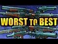 Destiny 2: WORST to BEST Gambit Weapons! | Forsaken