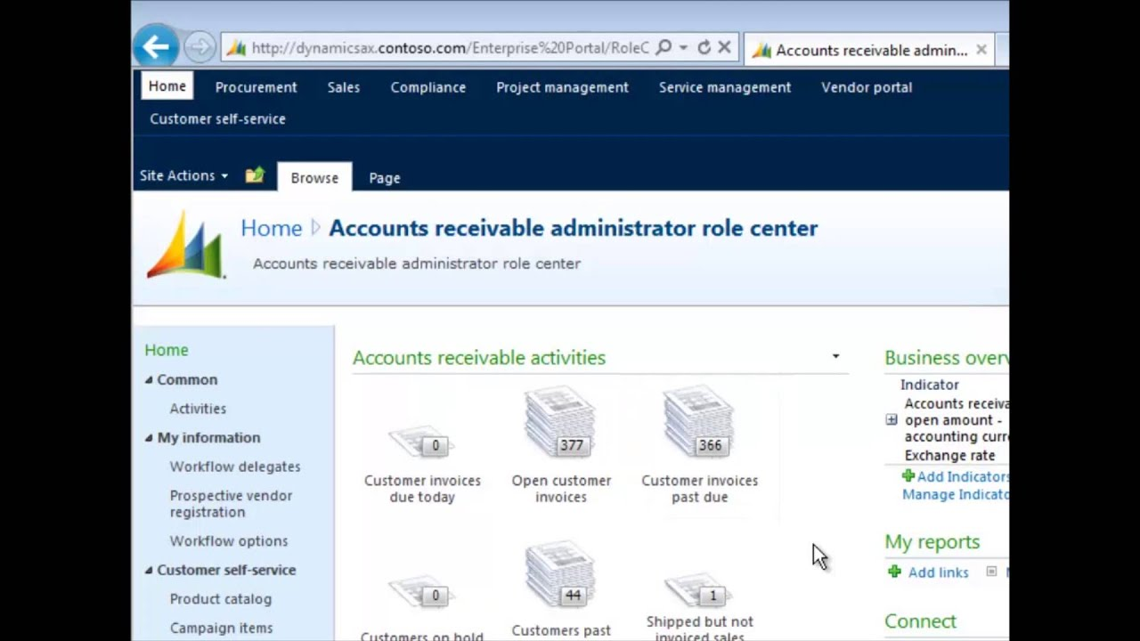 Ax pre requisites to install dynamics ax 2009 and enterprise portal - Microsoft Dynamics Ax Intro To Ax And Enterprise Portal Tutorial Youtube