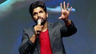 Allu arjun full speech about pawan kalyan controversy @ oka manasu audio launch | tfpc