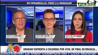 Uruguay vs Colombia - Argentina vs Ecuador Cuartos de Final Copa América 2021- Análisis Jorge Ramos