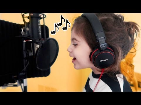 2 YEAR OLD RECORDS HER OWN SONG!!!
