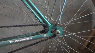 Подножка для велосипеда своими руками! Как сделать!
