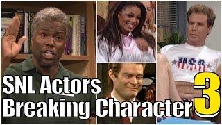 SNL Bloopers & Actors Breaking Character Compilation (Part 3)