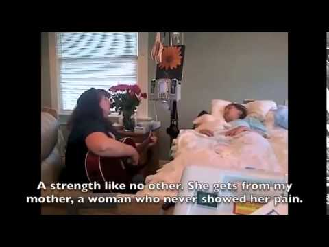 A Mother Sings a Precious Song to Her Dying Daughter