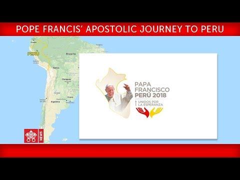 Pope Francis Apostolic Journey to Peru - Welcome ceremony 2018-01-18
