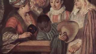 Сказки картинной галереи - Жан Антуан Ватто (91  серия) (Уроки тетушки Совы)