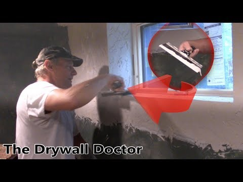 How to Skip Trowel a Drywall Patch